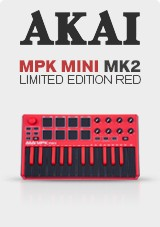 Akai MPK Mini MK 2, Limited Edition Red
