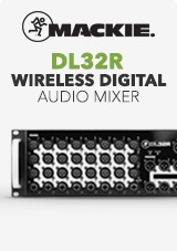 Mackie DL32R Mixer Audio Digitale Wireless