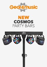 gear4music Nuove Luci Party COSMOS